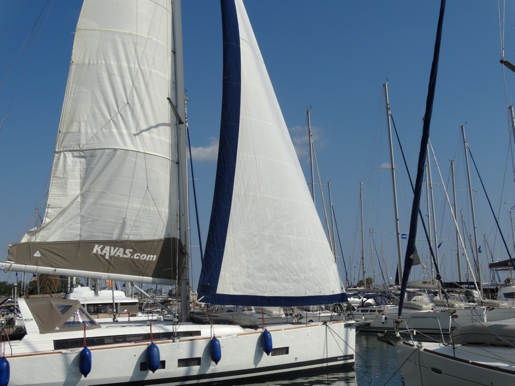31 main sail, genoa
