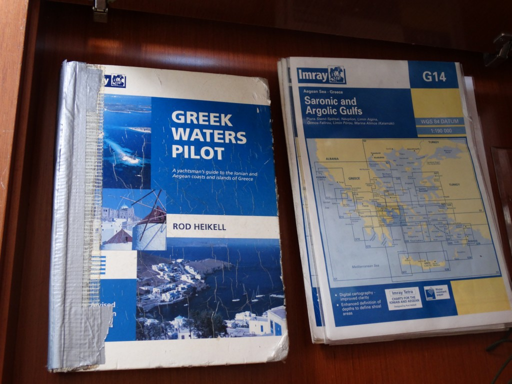 10  greek water pilot, charts, divider, compass, navigation ruler