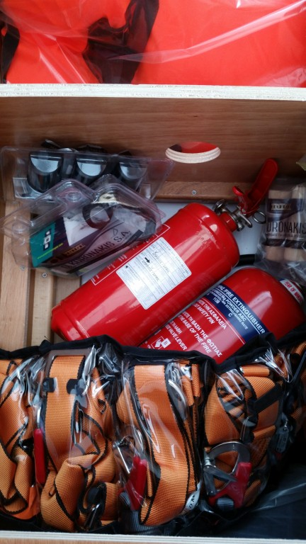 Fire extinguishers,belts