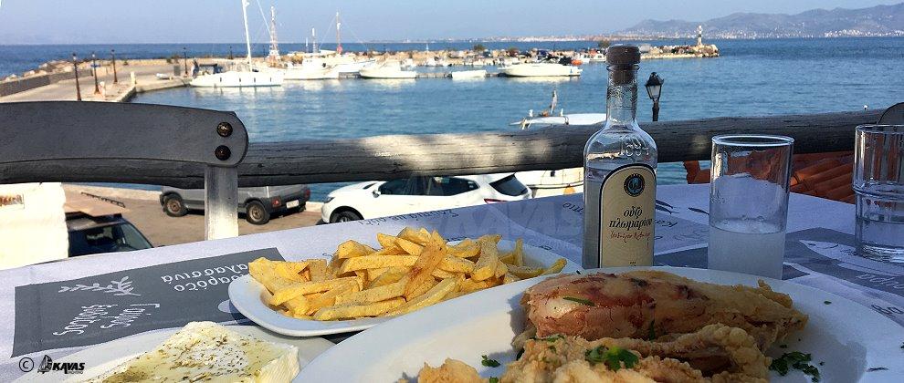 Agistri, sea food