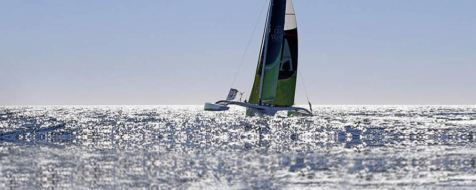 Trimarans are faster than monohuls and catamarans