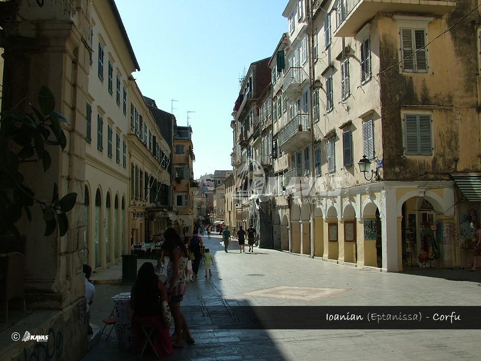 Ionian - eptanissa - Corfu town