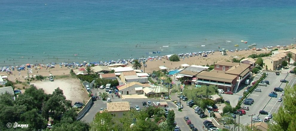 Corfu Glifada beach