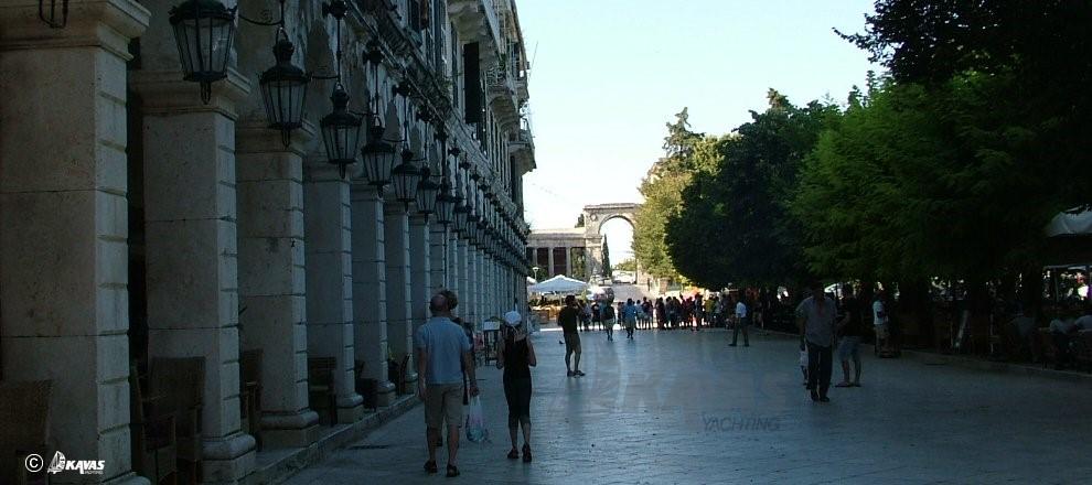 Corfu Spianada square