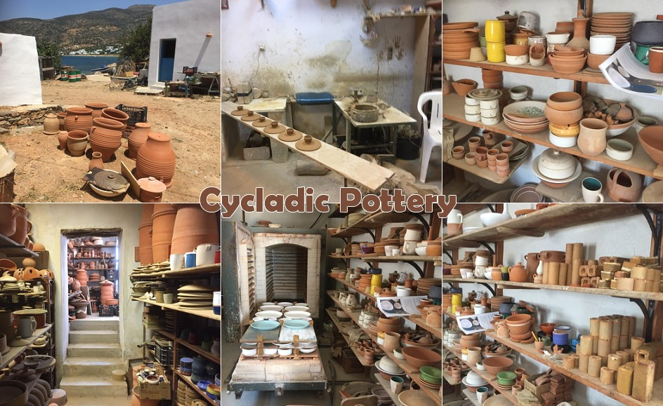 Cycladic pottery in Sifnos