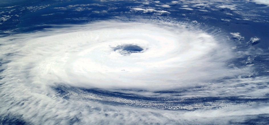 hurricane is a rotating tropical cyclone