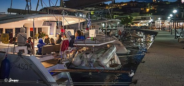 Your boat as a cafe or a bar