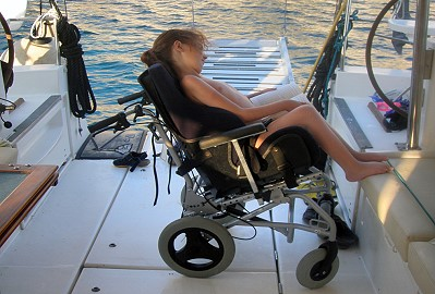 sailing disabled boat modifications
