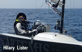 Hilary Lister sailing disabled