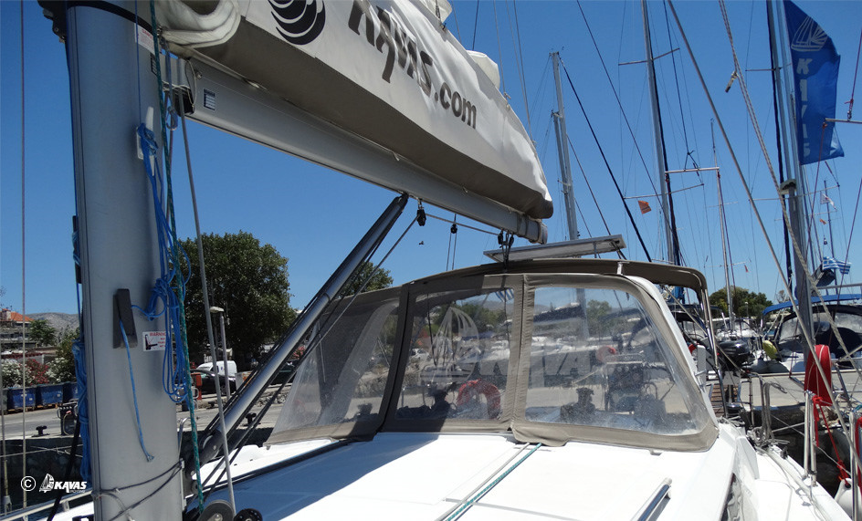 Spray Hood on Kavas Yacht
