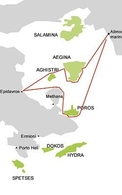 Saronikos itinerary 01