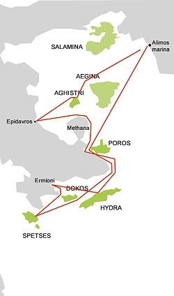 Saronikos itinerary 02