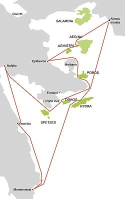 Saronikos itinerary 03