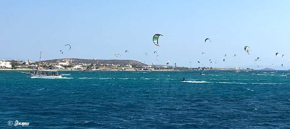 Antiparos kitesurfing