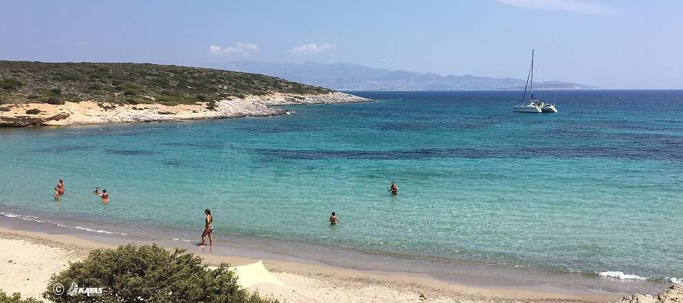 Antiparos beaches