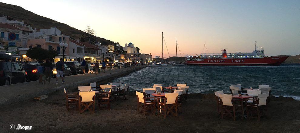 Kea Korissia evening
