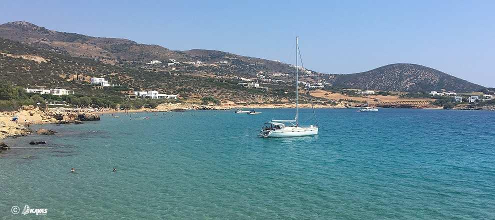 Paros anchoring