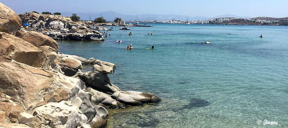 Paros Kolimpithres beach