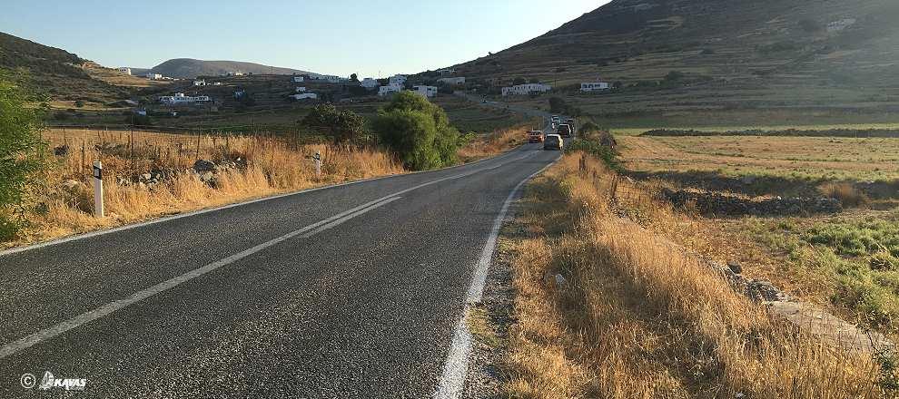 Paros road network