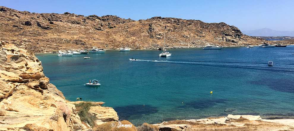 Paros yacht charter