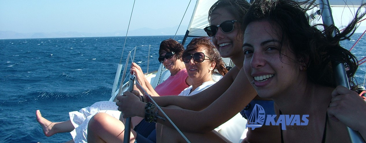 yacht charter greece in kos - bare boat charter