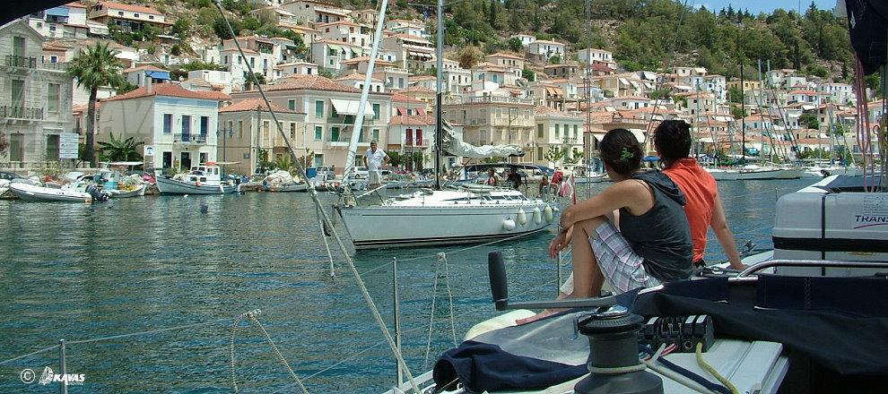 Poros island yachting