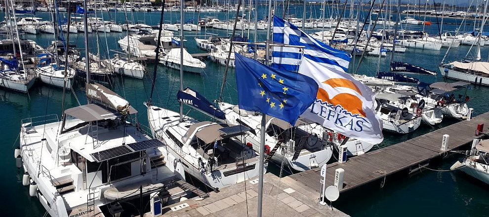 Yacht charter Lefkas