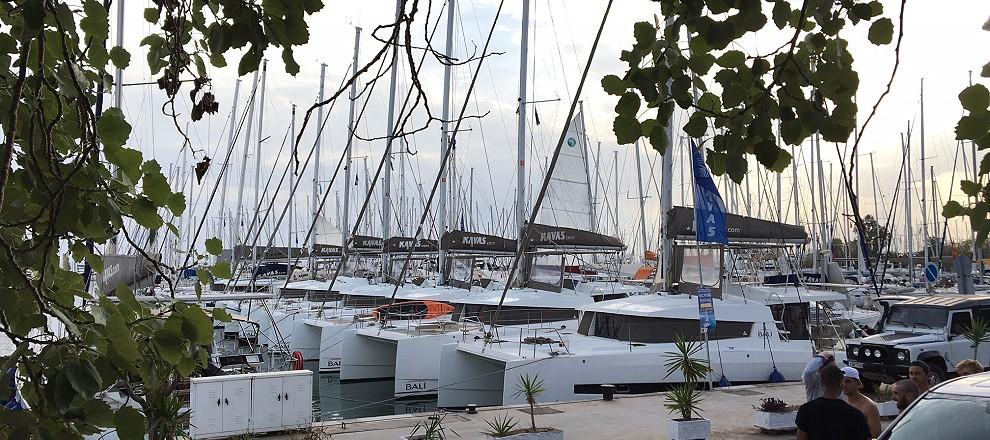 Alimos Kavas Yacht charter base