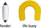 fender, life buoy