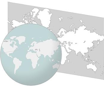 Mercator-projection