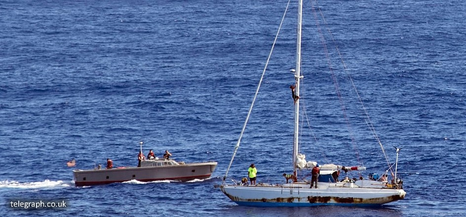 Yacht charter survival tips - lost at sea incident