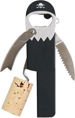 Pirate wine opener