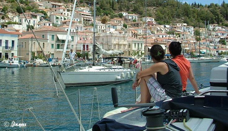 Poros island Canal - Saronic