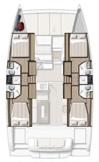 bali 4 2 4 cabin 4 bath symmetric layout